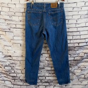 VTG 80s Levi's 540 Orange Tab Relaxed Fit Jeans